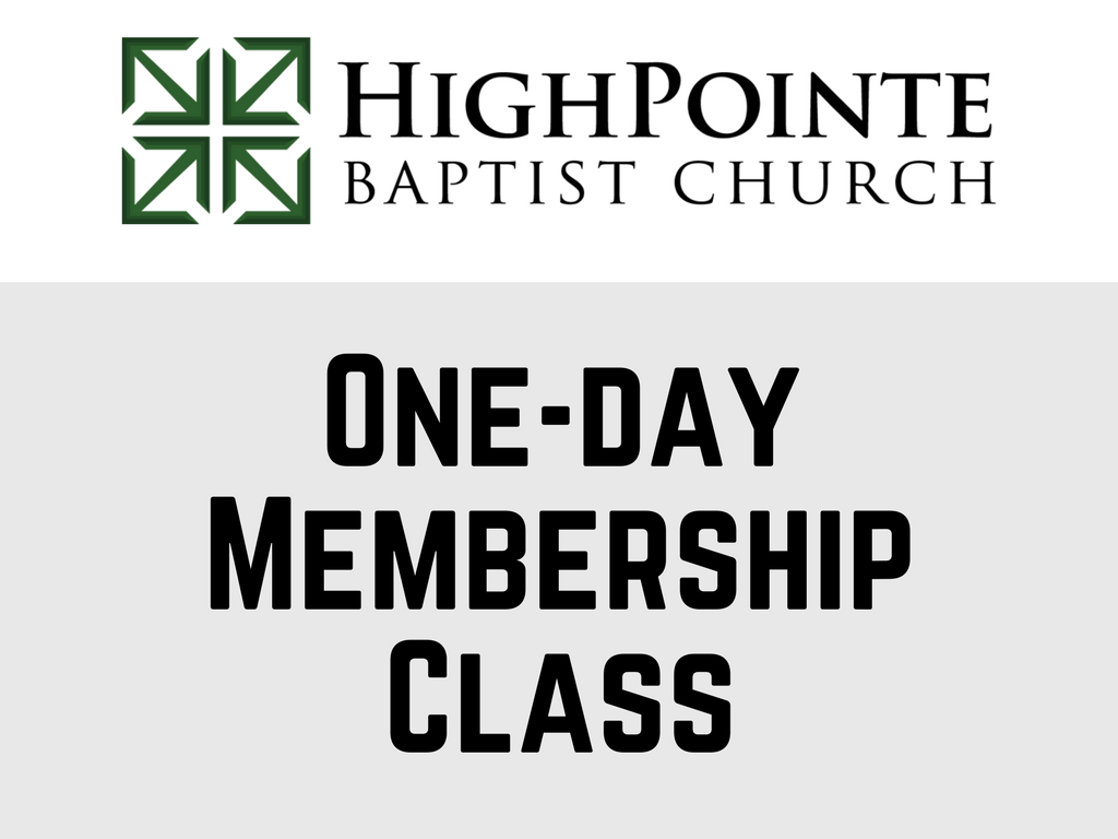 One day membership class  1