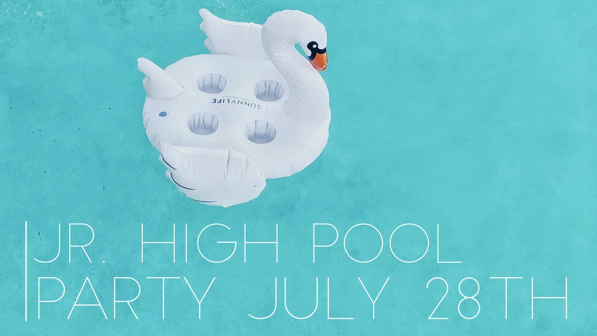 Promo   jr high pool party