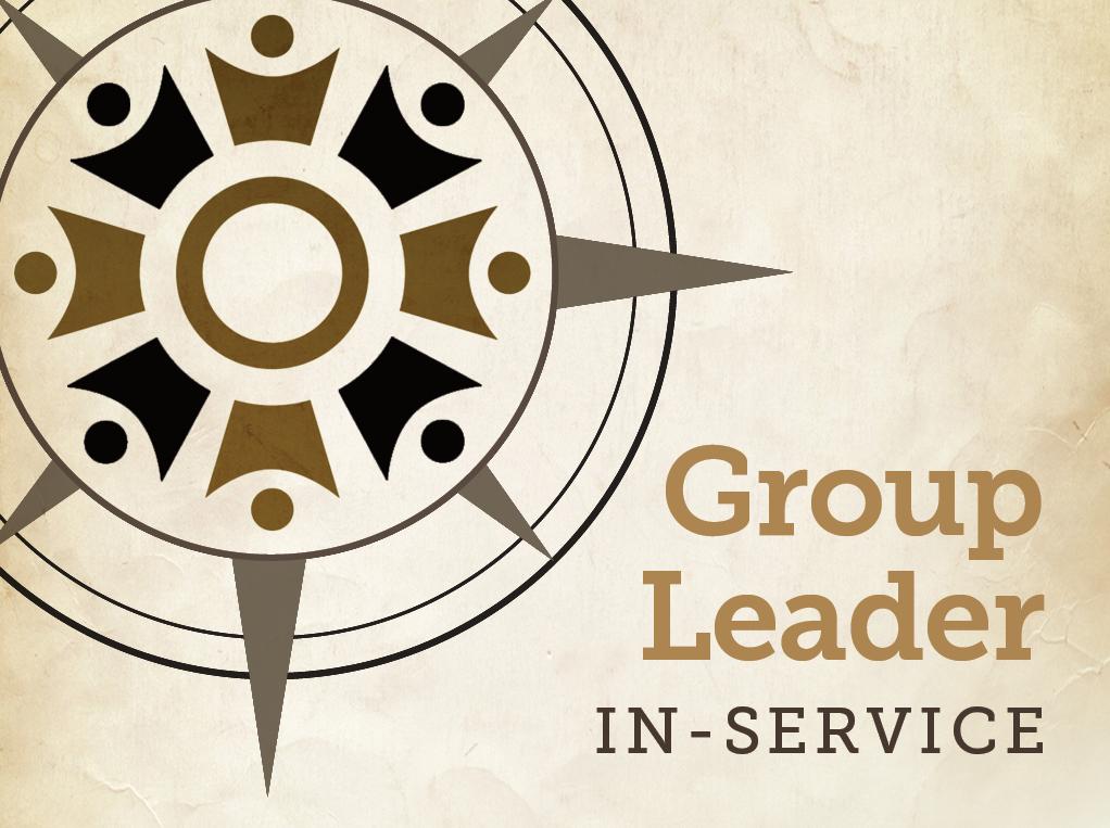 Groupleaderinservice event