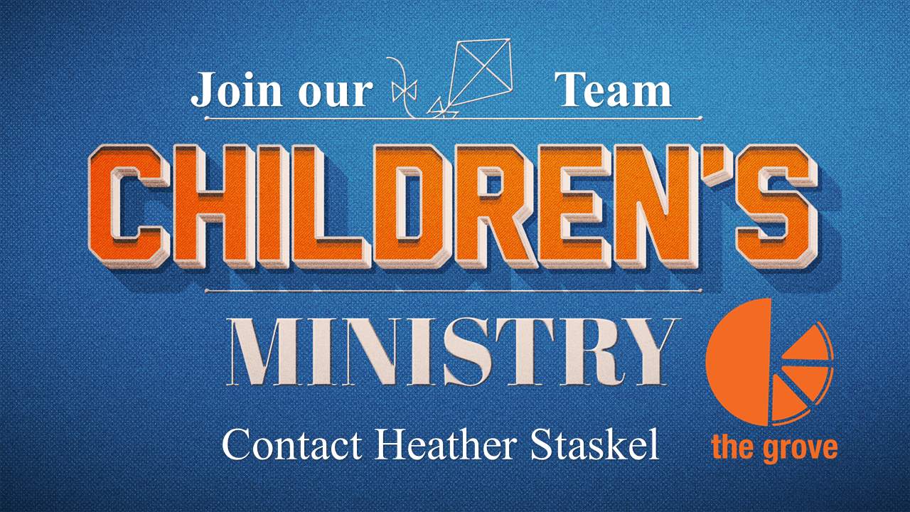 Childrens ministry get involved