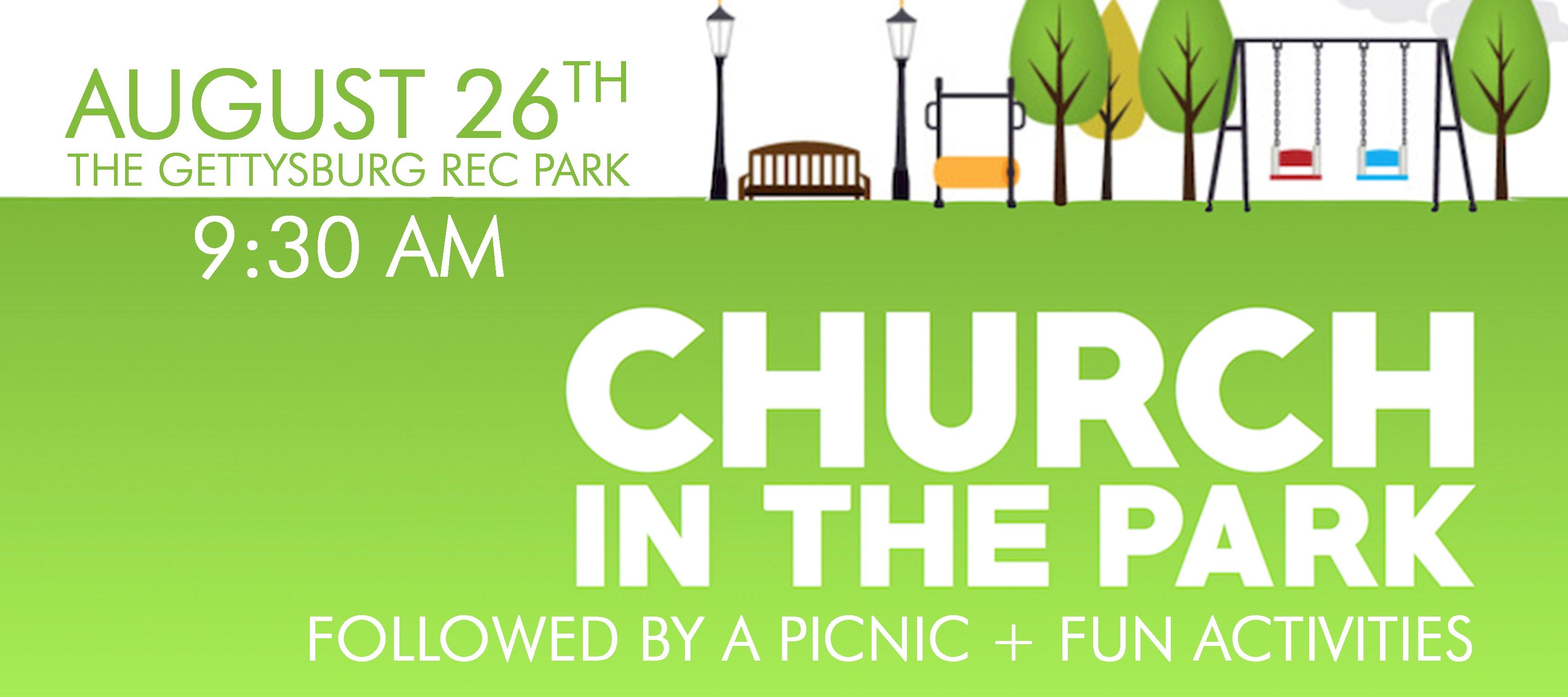 Church in the park 2018
