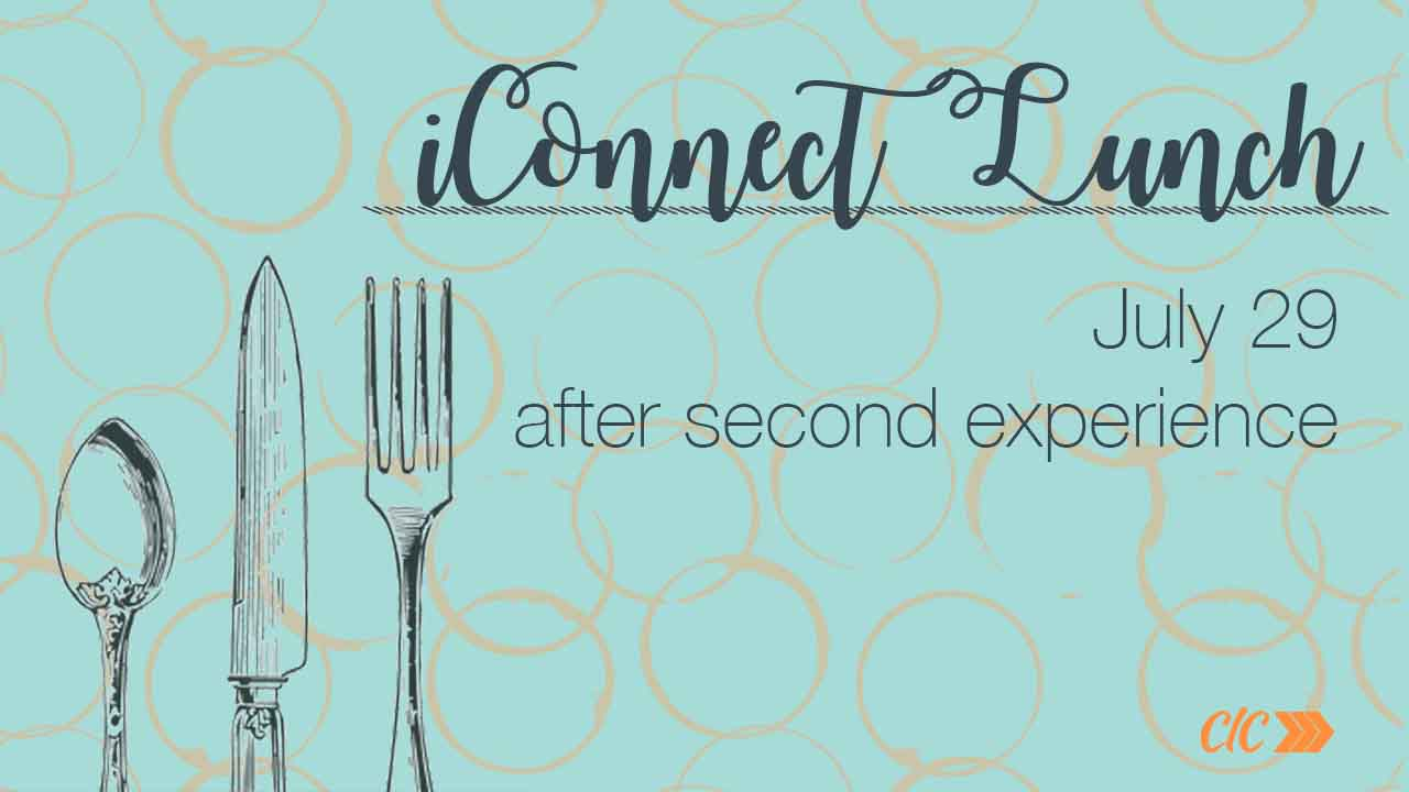 Iconnect lunch july29