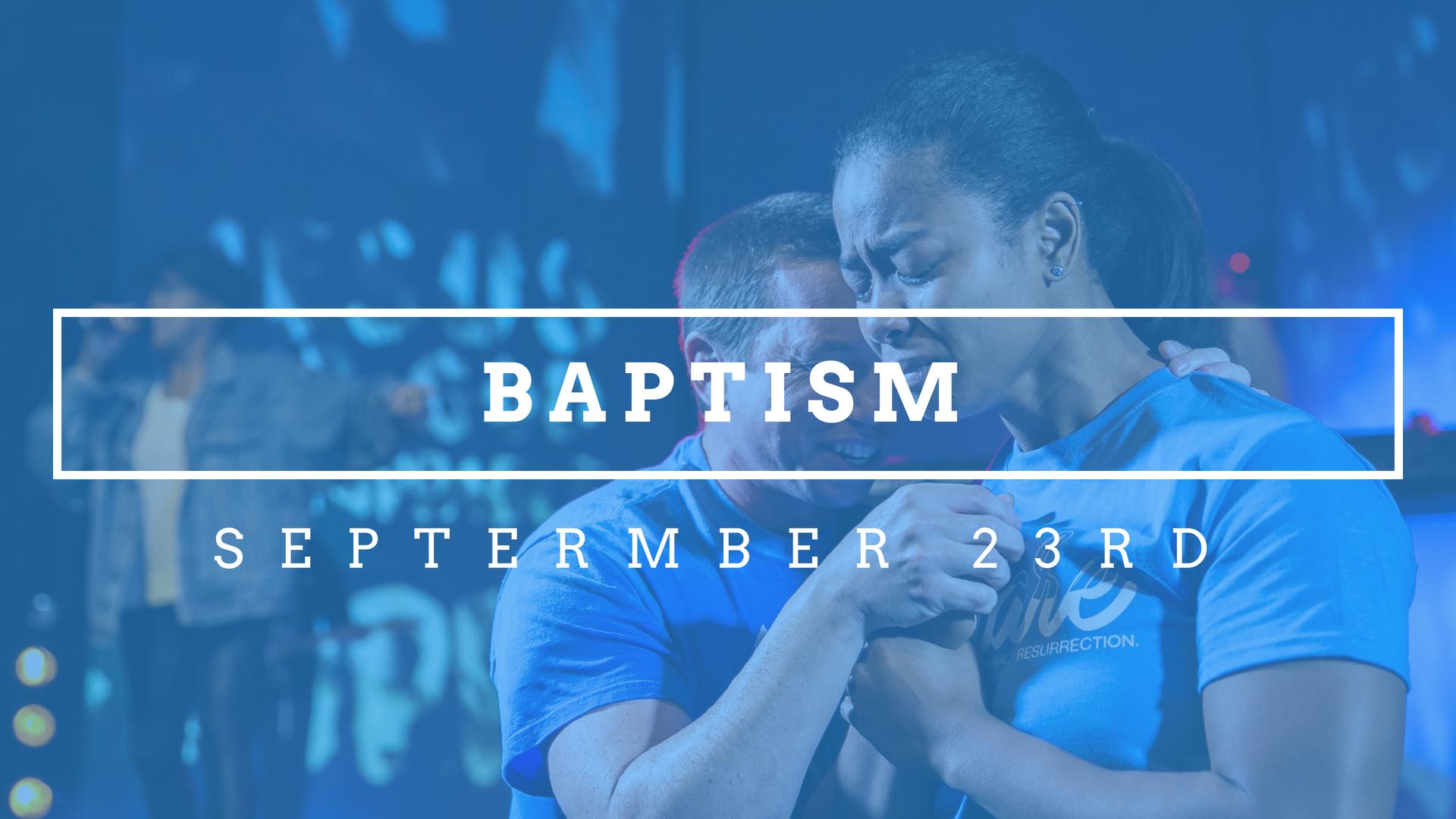 Ignite baptism