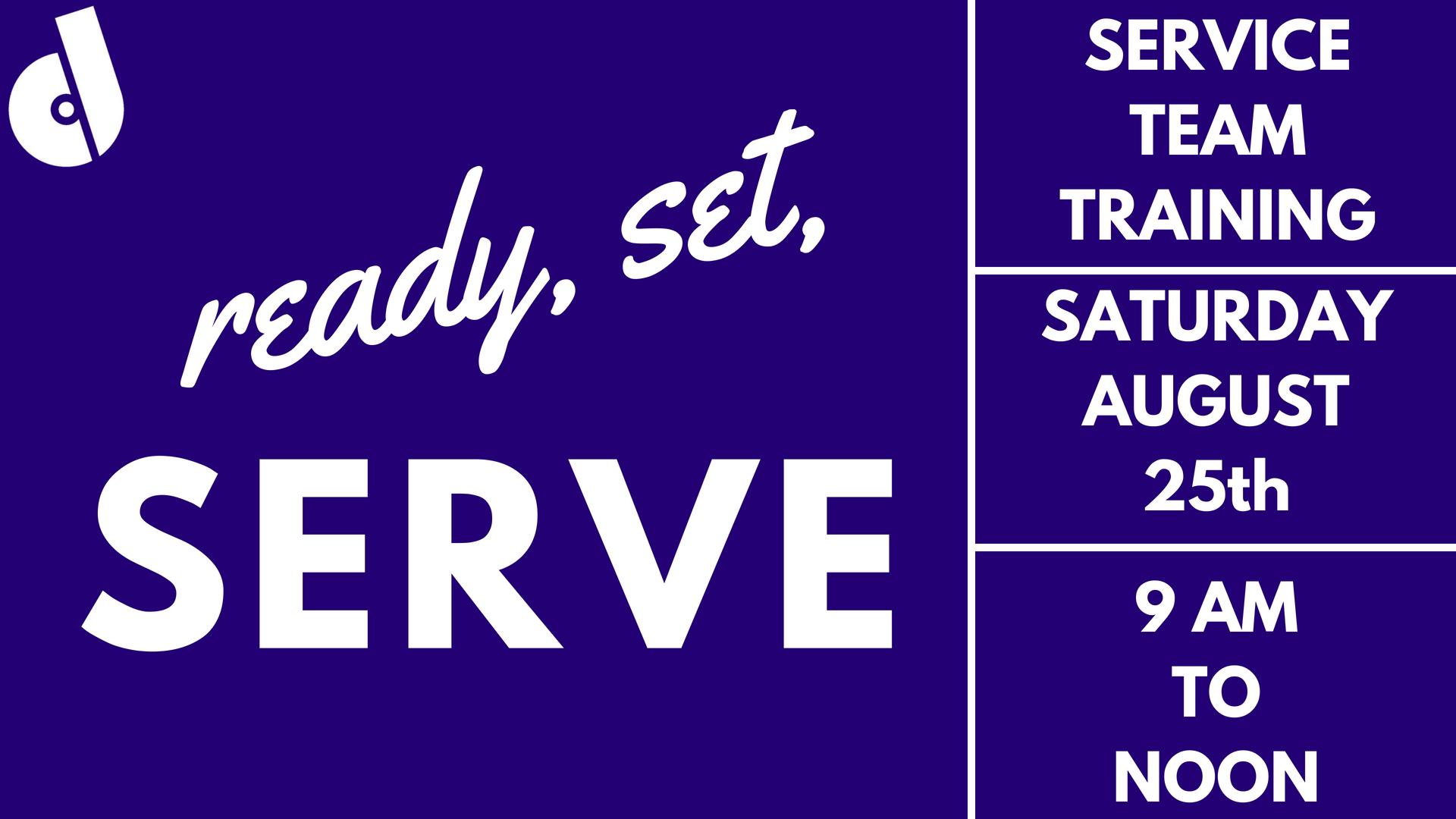 Ready  set  serve