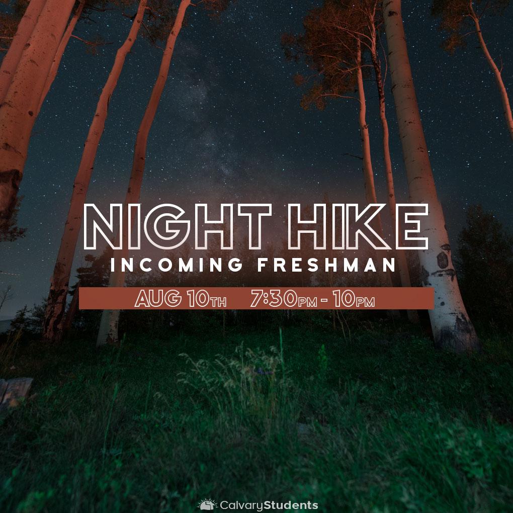 Nighthike students
