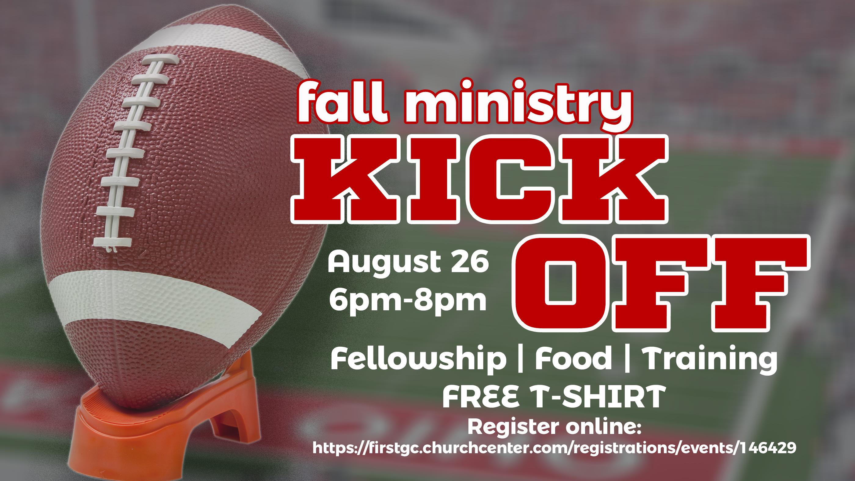 Fall min kick off