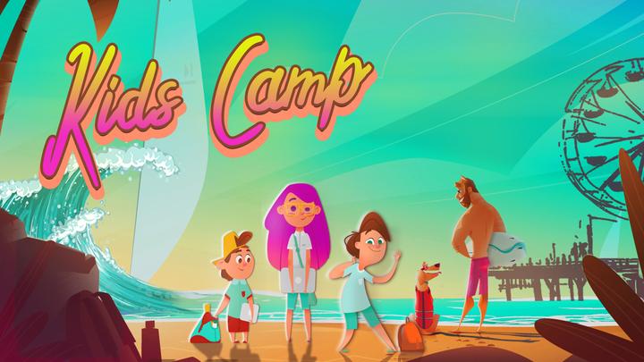 Kids Camp 2019   Poulsbo logo image