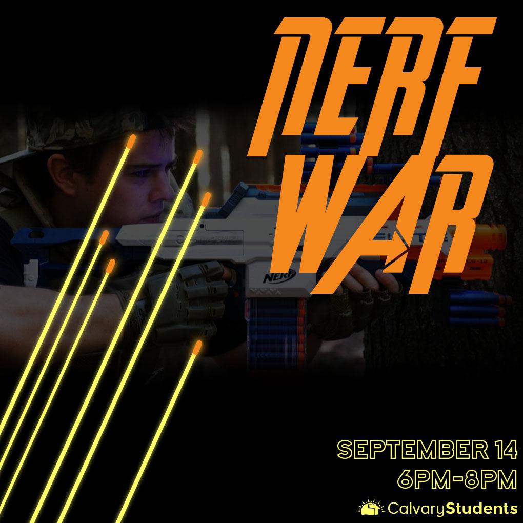 Nerfwar students