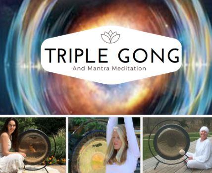 Triple gong meditation image