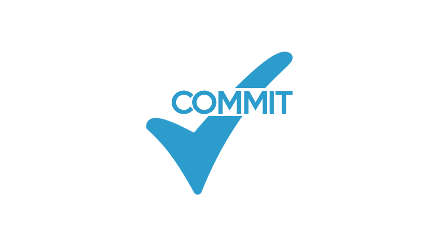 Commit icon blue 9x16