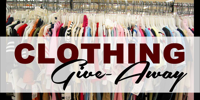 Clothing giveaway  1