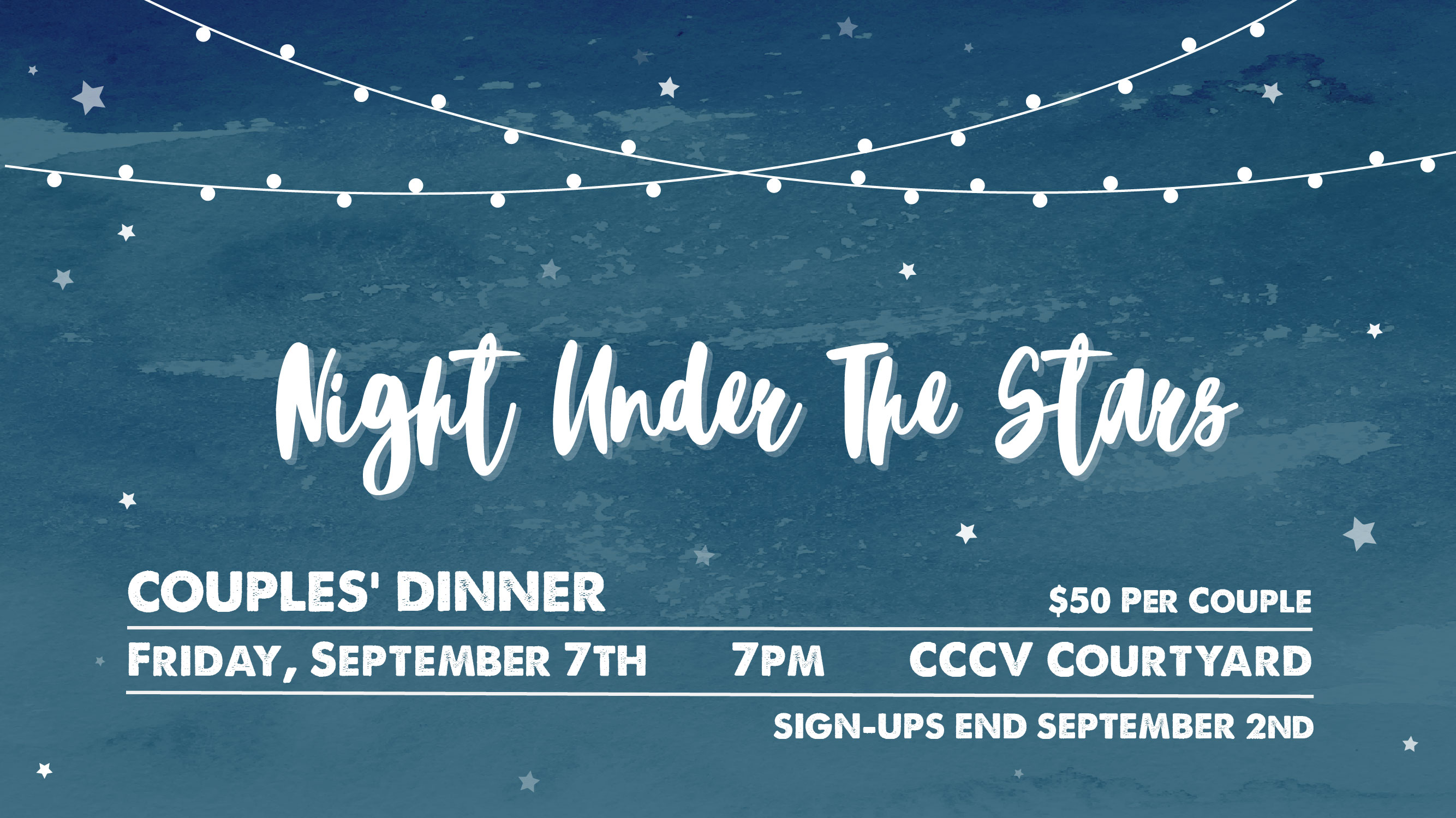 Cg couples dinner night