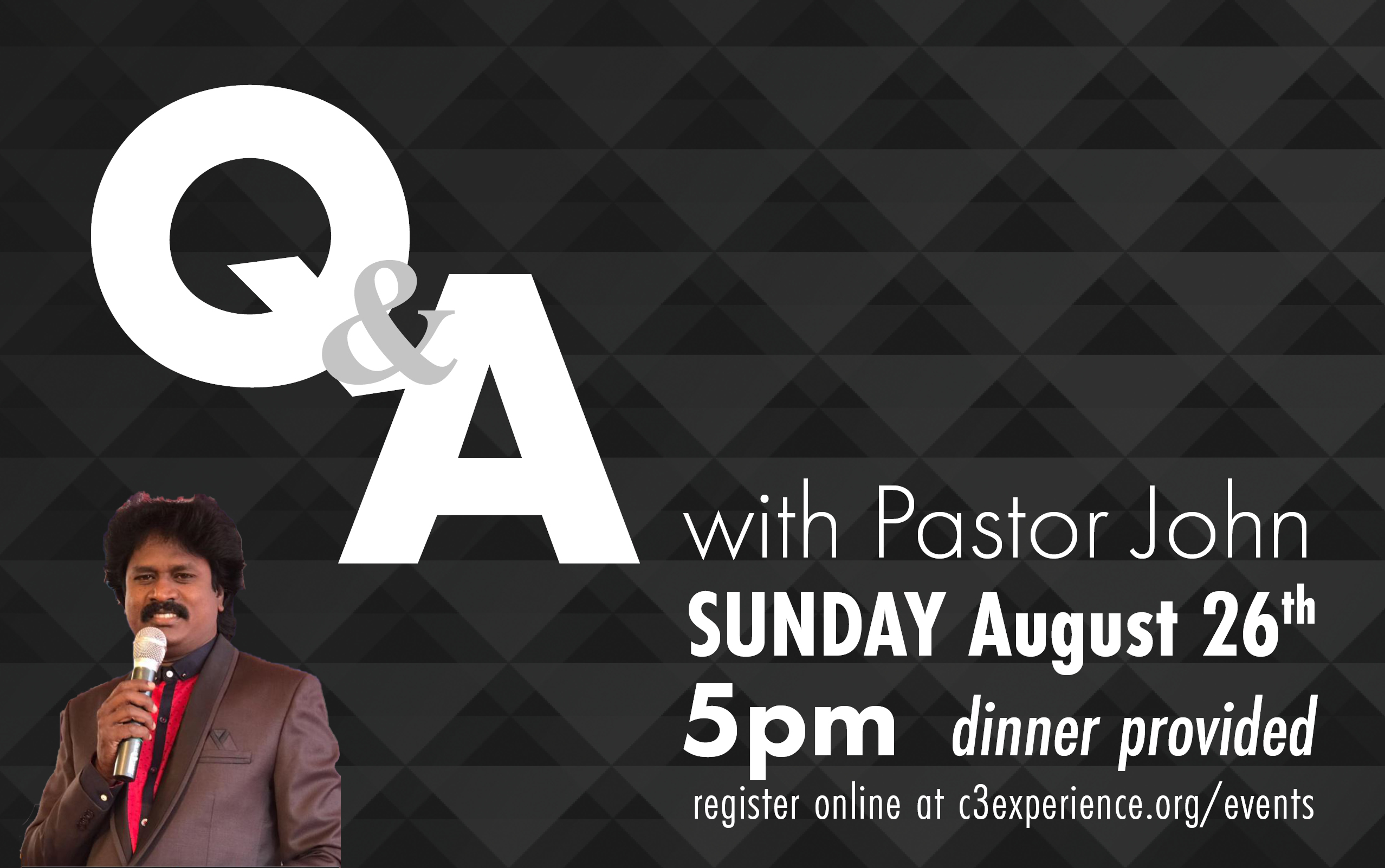 Updatedqanda with pastor john