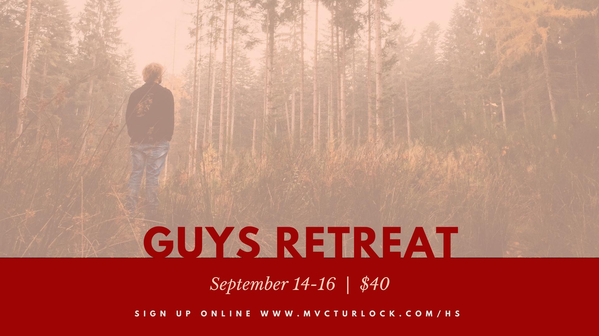 Guys retreat  1