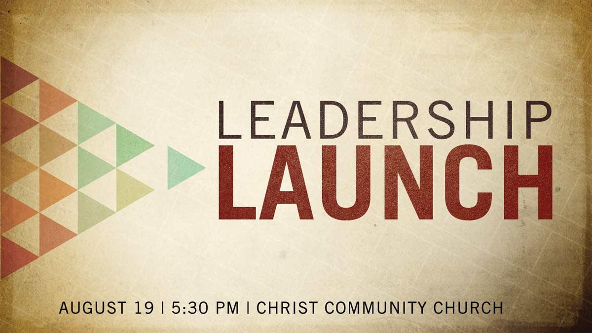 Leadership launch