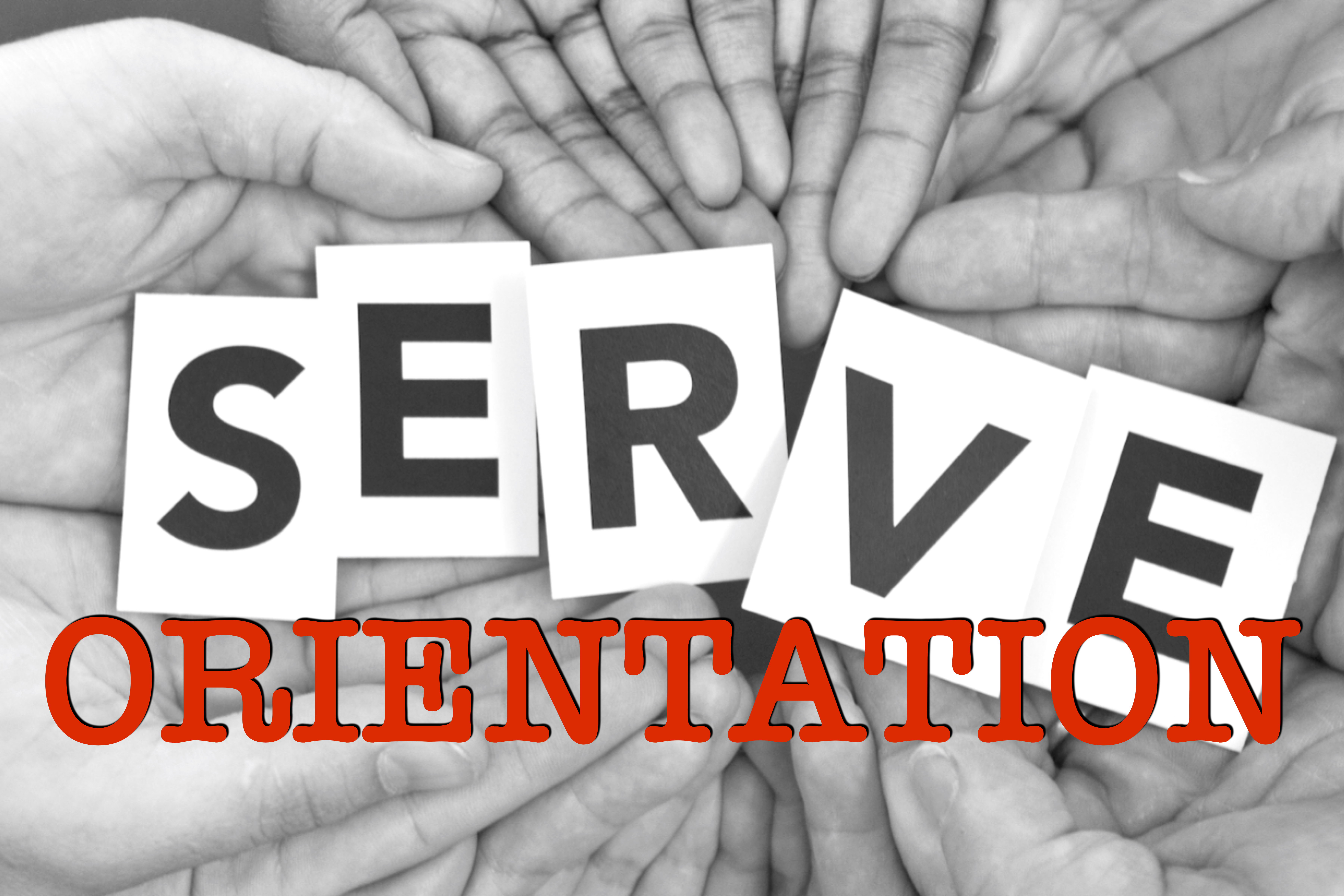Serve orientation logo