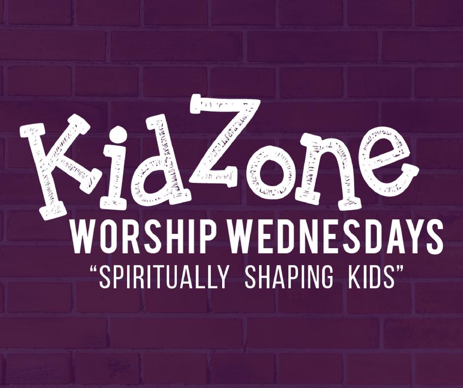Kidzone worship wednesdays