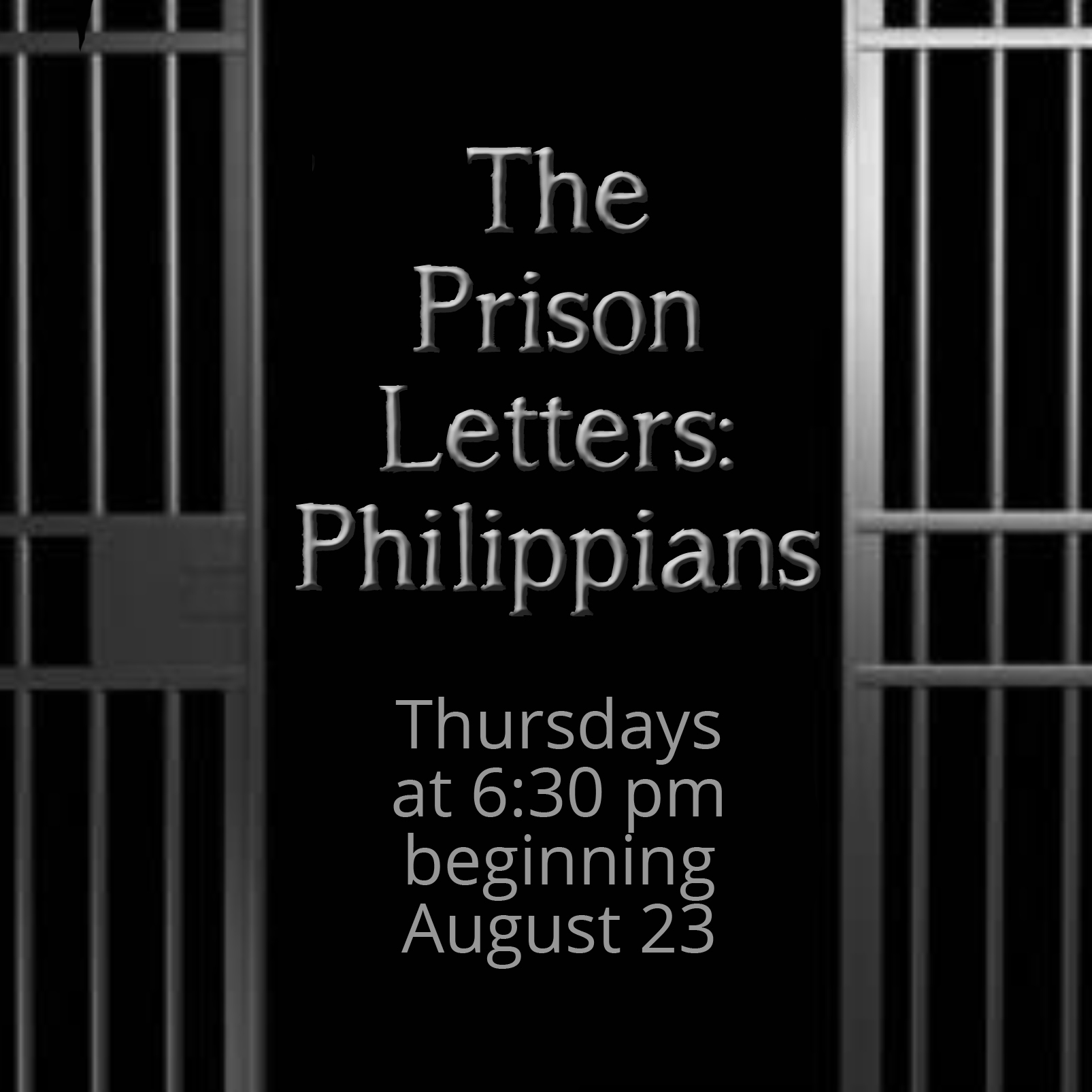Letters from prison bible study 1