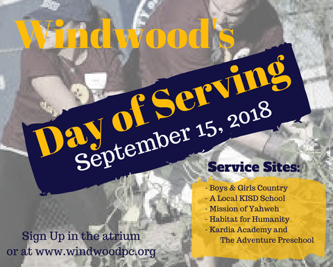 Day of serving 7.30