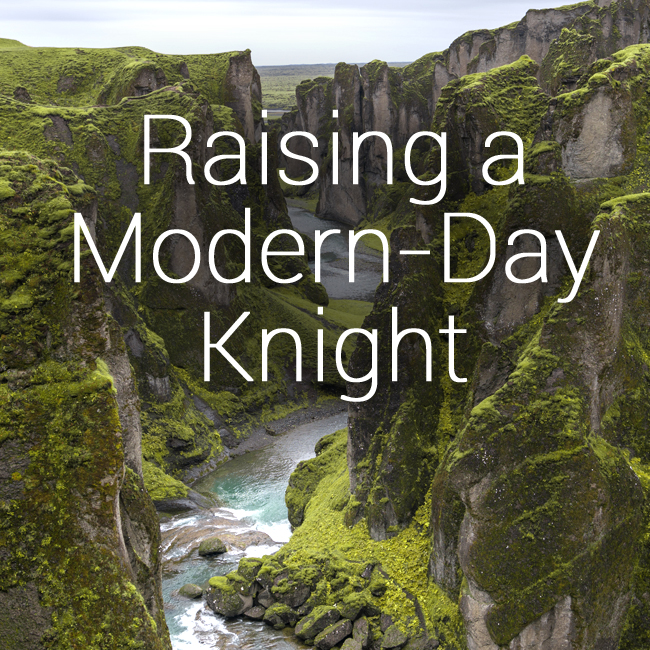 Class fall modern day knight