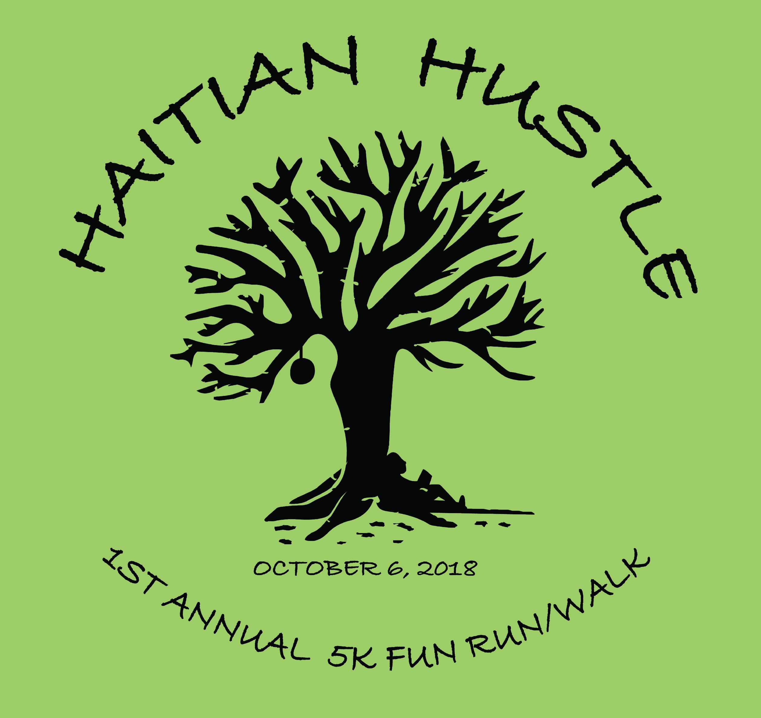 Haitian hustle logo for registration
