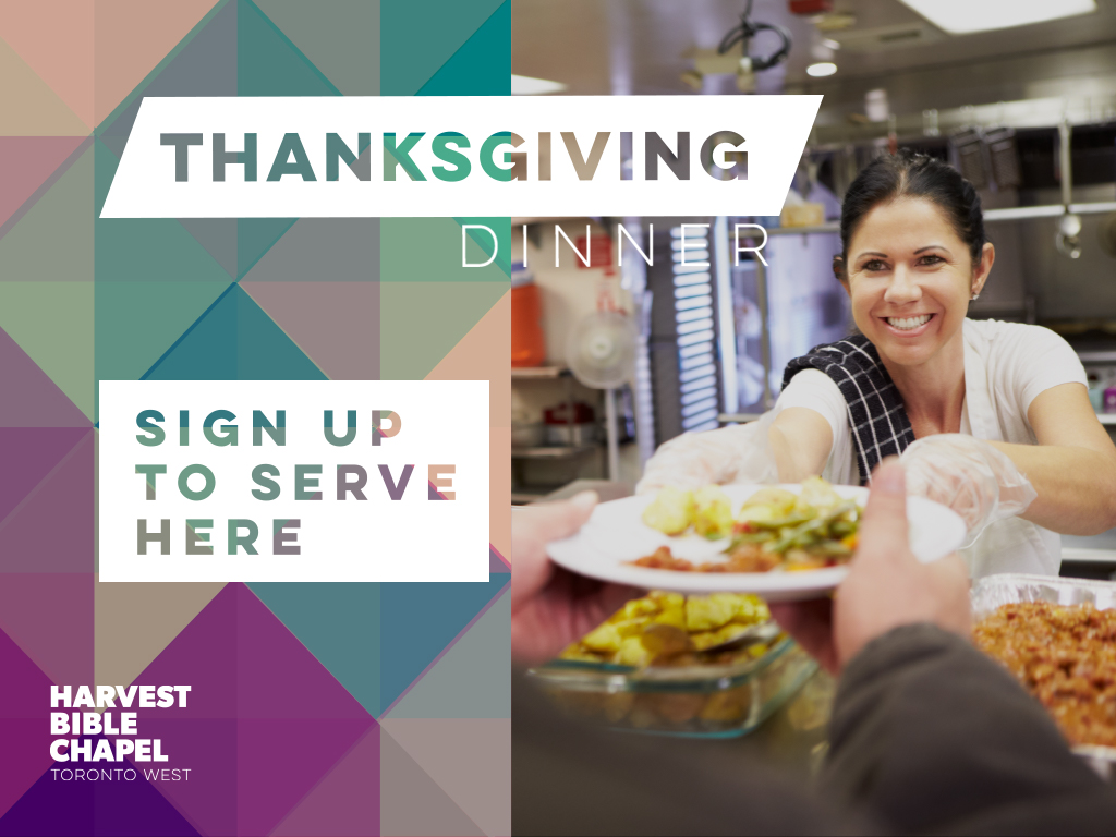 Thanksgiving signup  pco registration