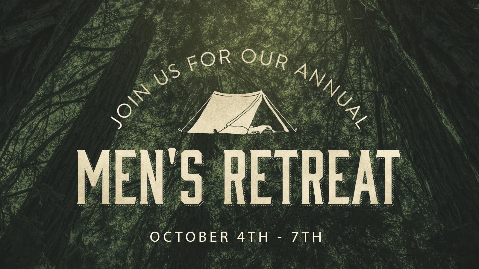 Mens retreat 2018 announce