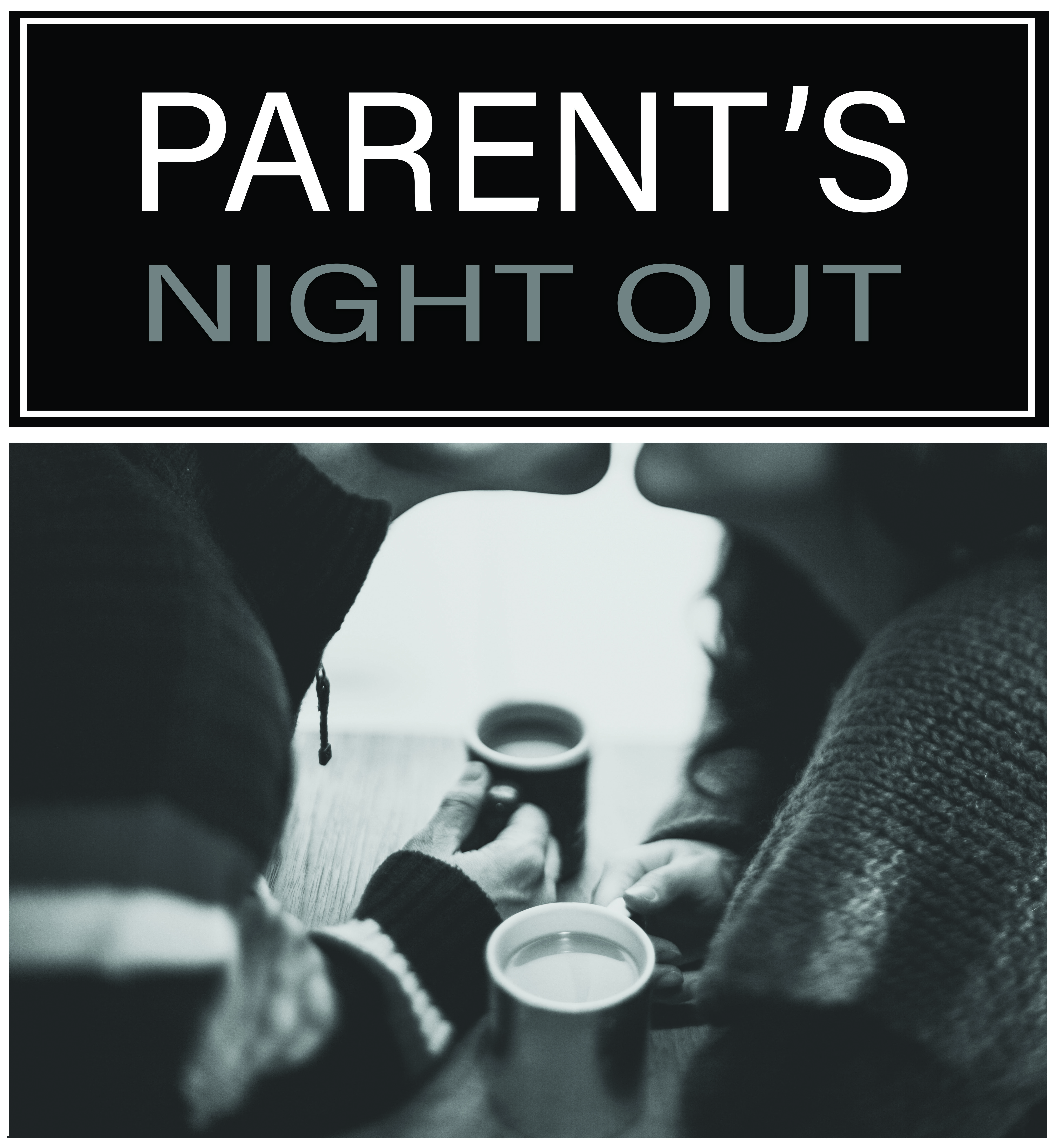 Parents night out graphic