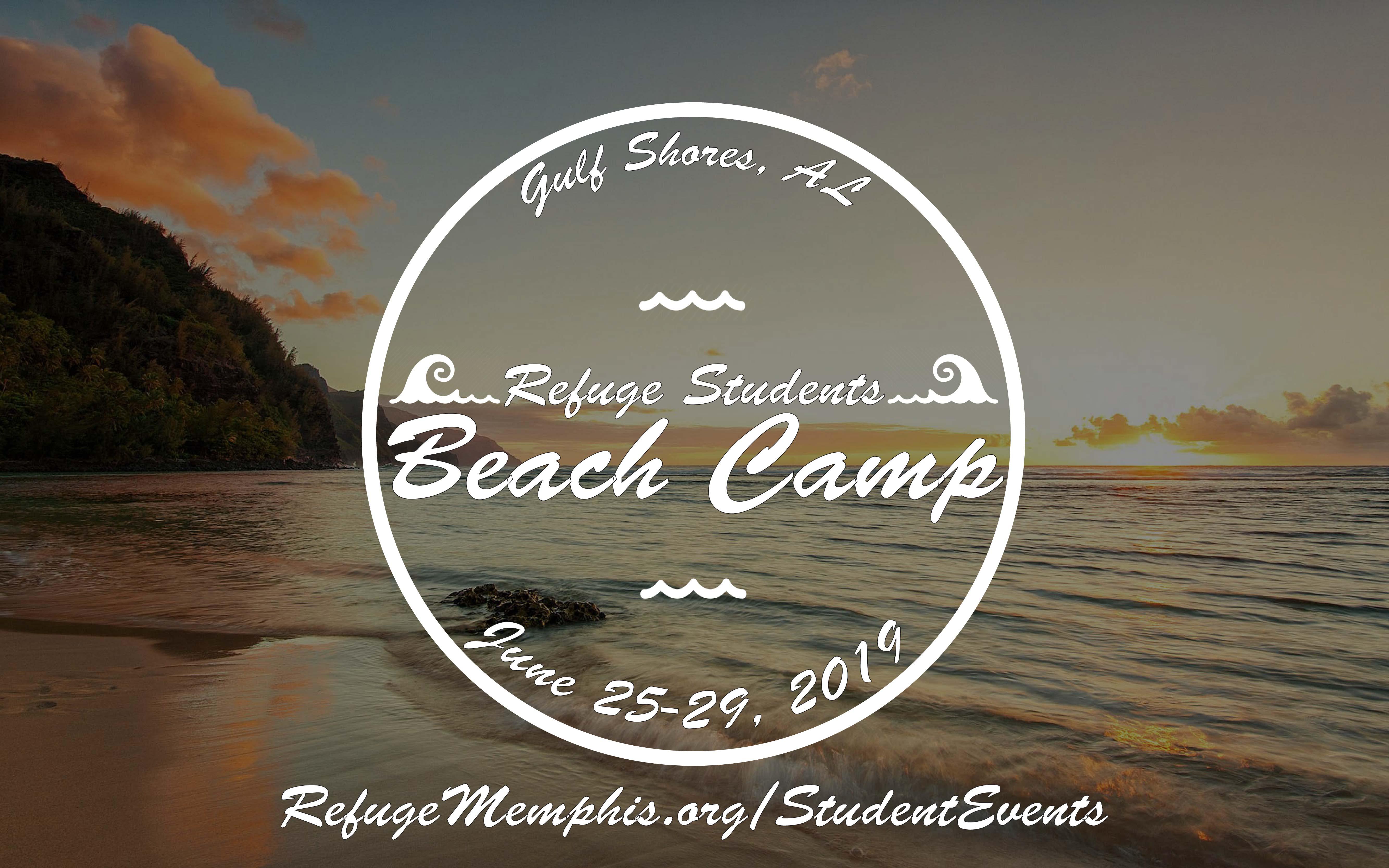 Summer beach camp 2019
