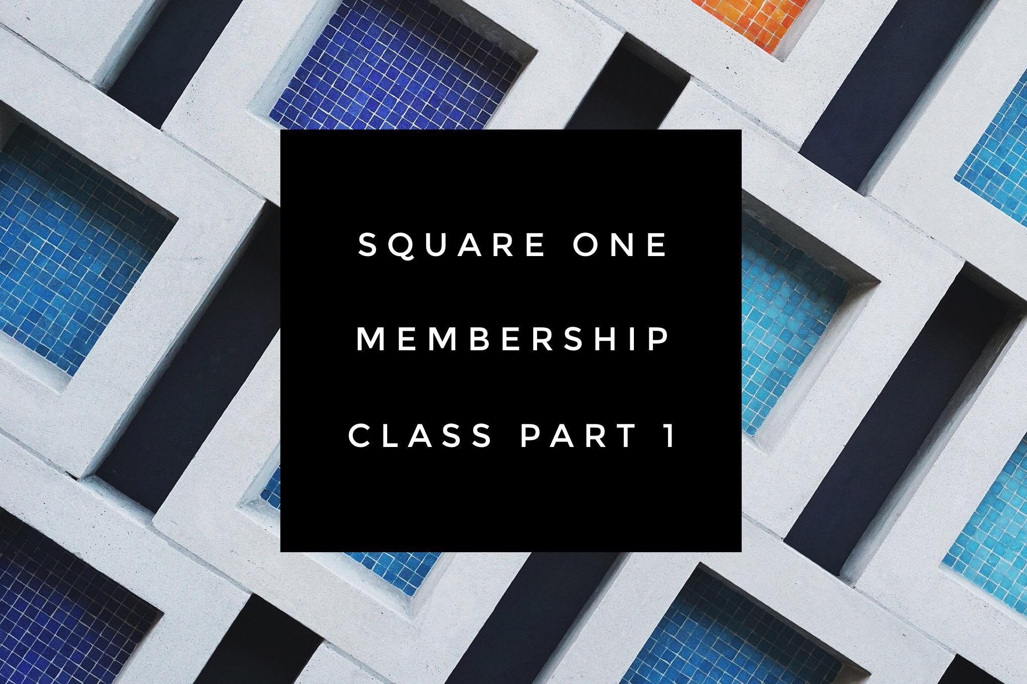 Square one pt 1