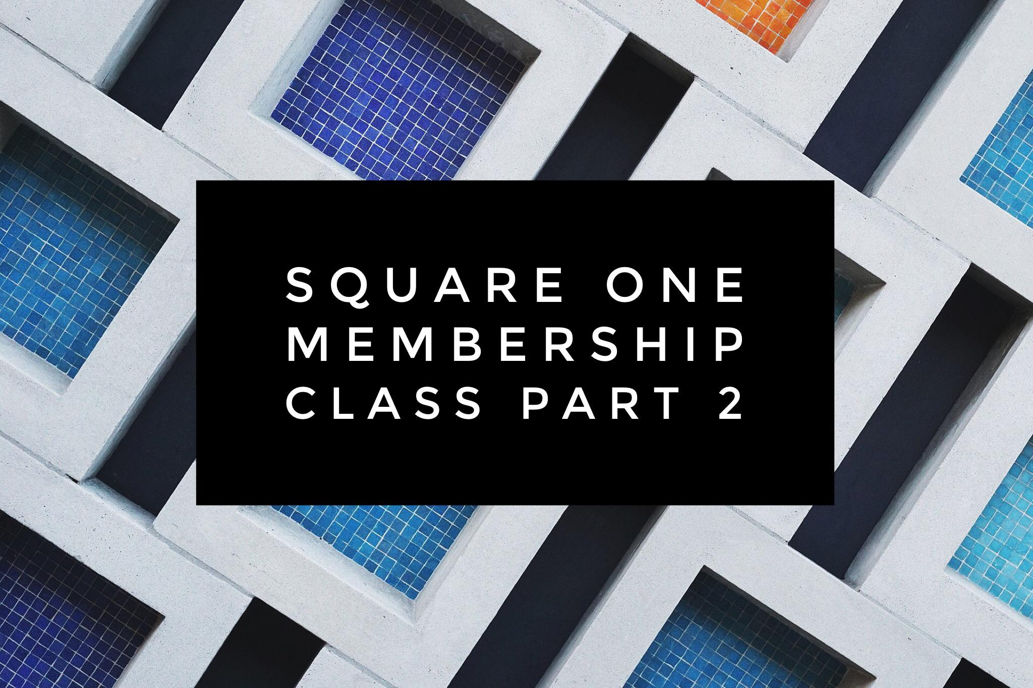 Square one pt 2