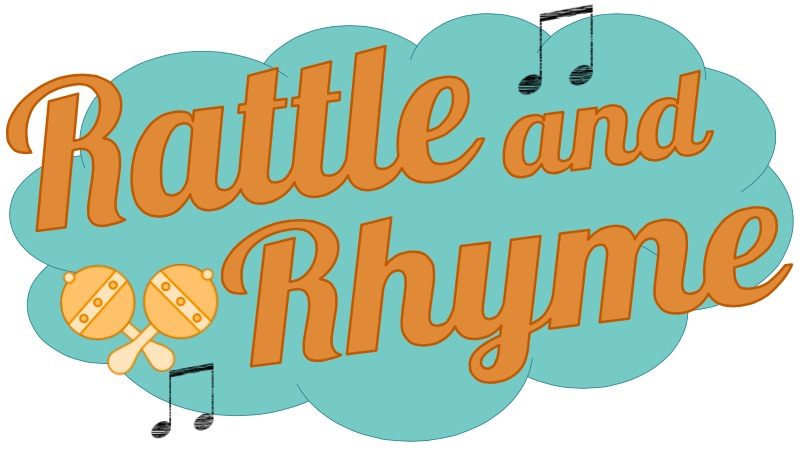 Rattle and rhyme logo