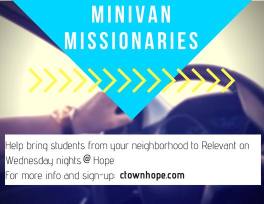 Minivan missionaries  3