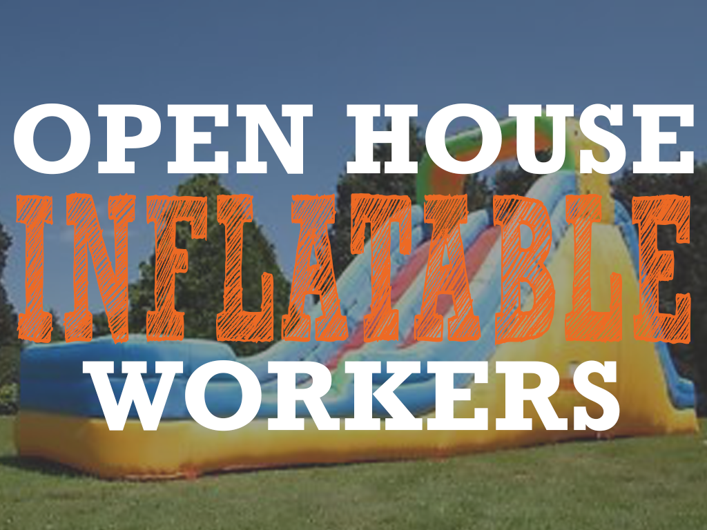 Open house inflatable pco