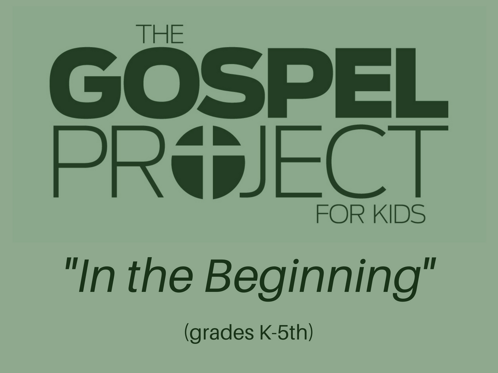 The gospel project for kids  1