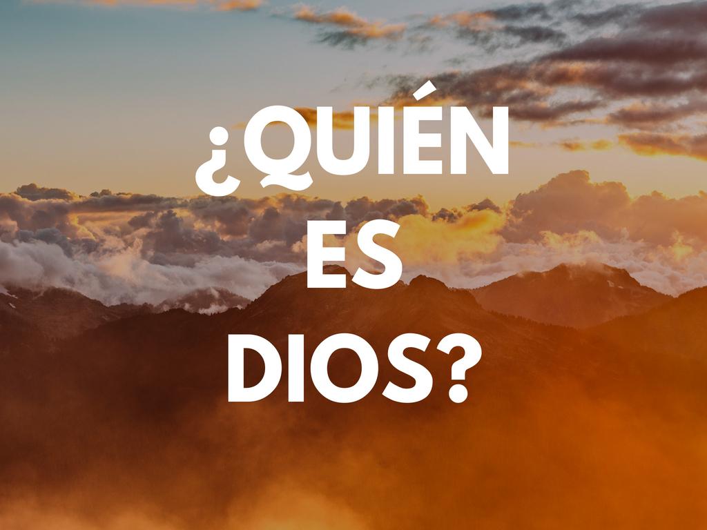 Who is god   spanish