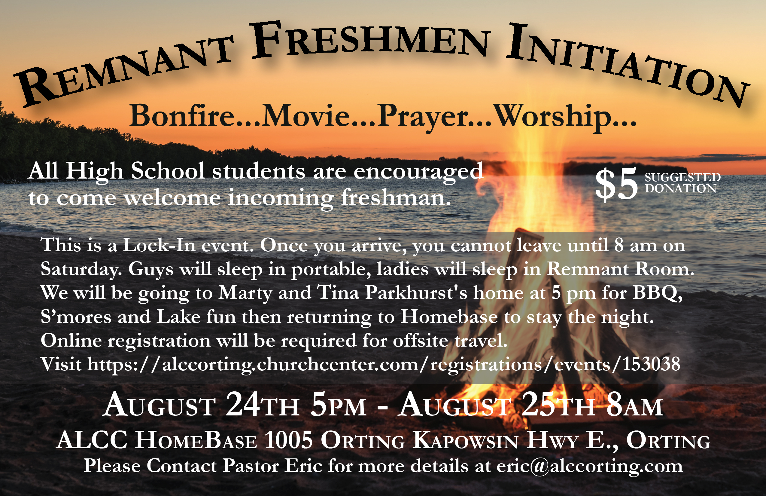 Remnant freshmen initiation