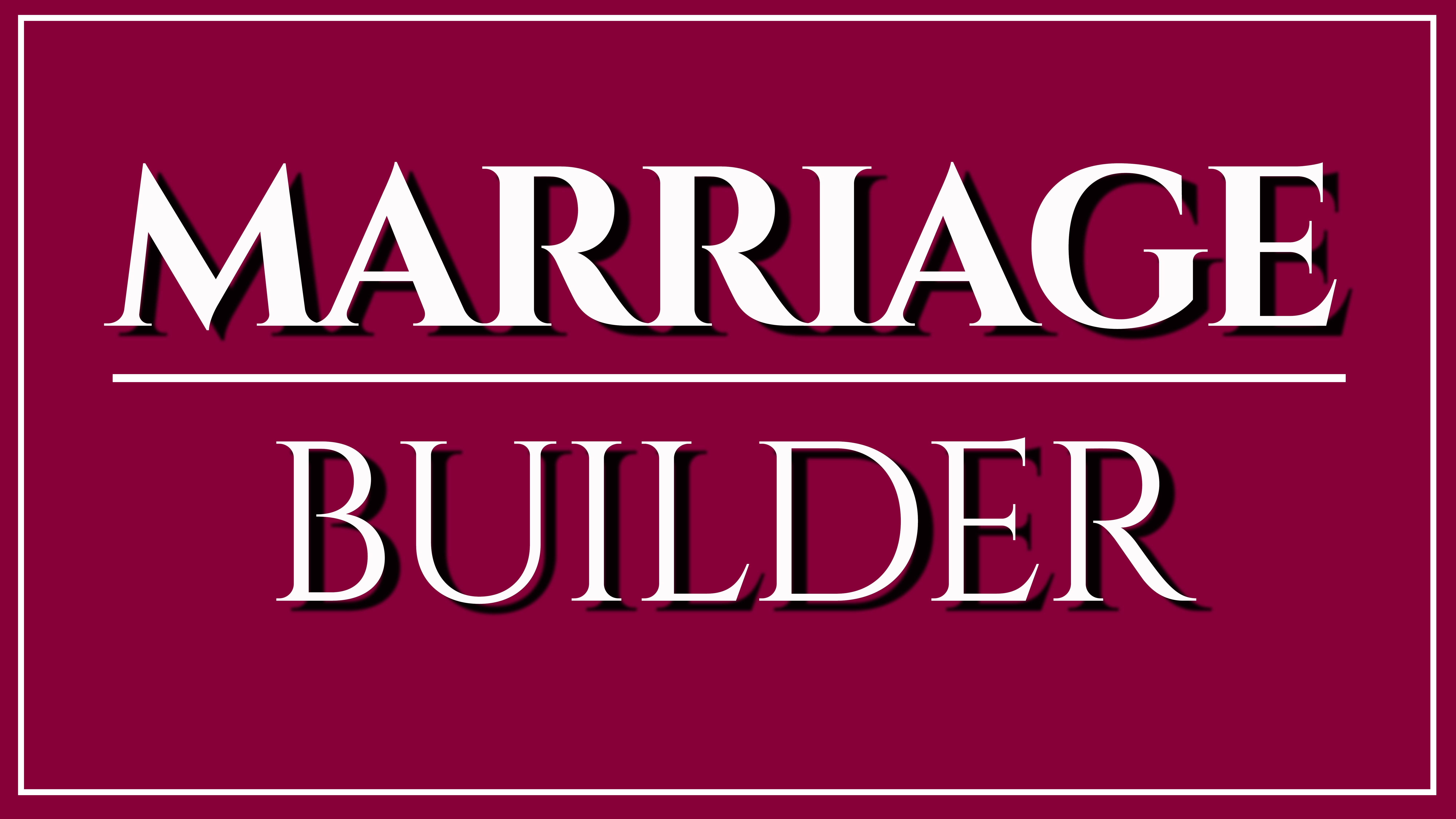 Marriage builder logo