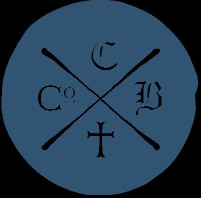 Blue logo icon