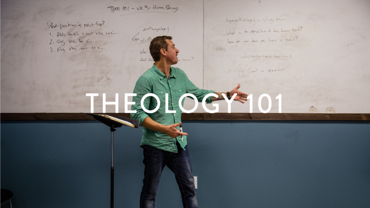 THEO 101: Intro to Christian Beliefs logo image