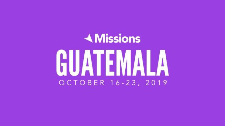 Guatemala Missions Trip logo image