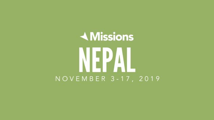 Nepal Missions Trip logo image
