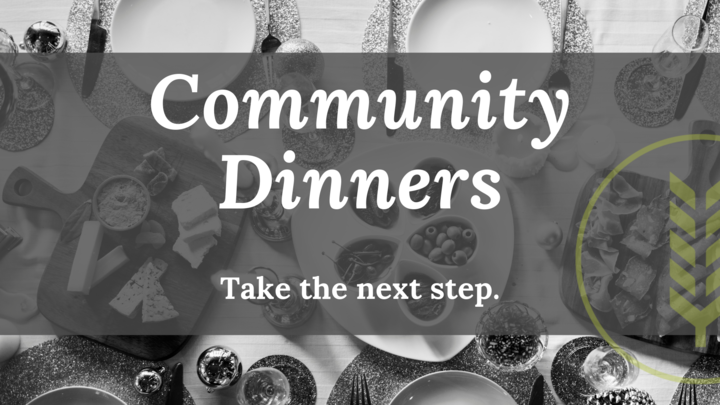 Community Dinners logo image