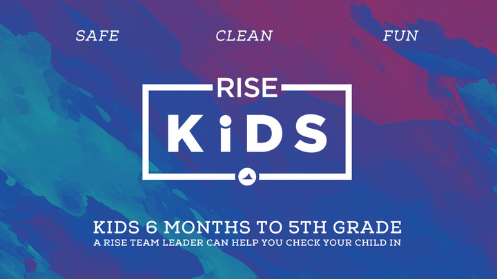 RISE Kids Pre-registration  logo image