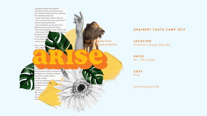 Arise Youth Camp 2019 logo image