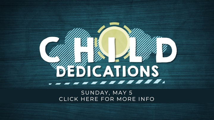 Medium child dedication   may 2019