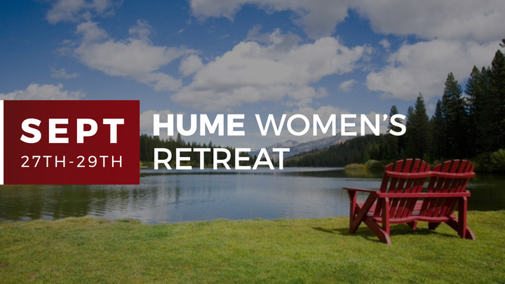 Hume Lake Women's Retreat logo image