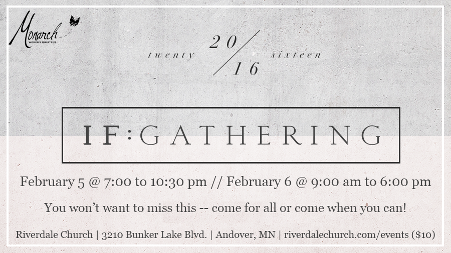 2016 if gathering riverdale area