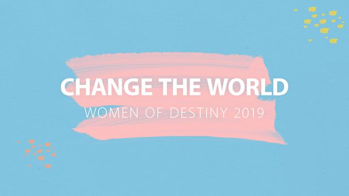 Women of Destiny 2019 logo image