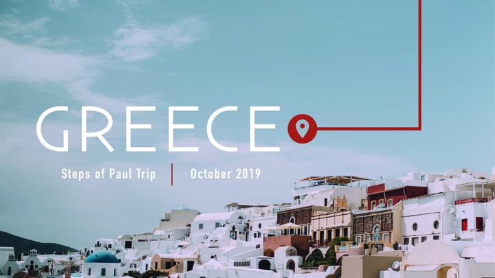 Greece-Steps of Paul Trip October 2019 logo image